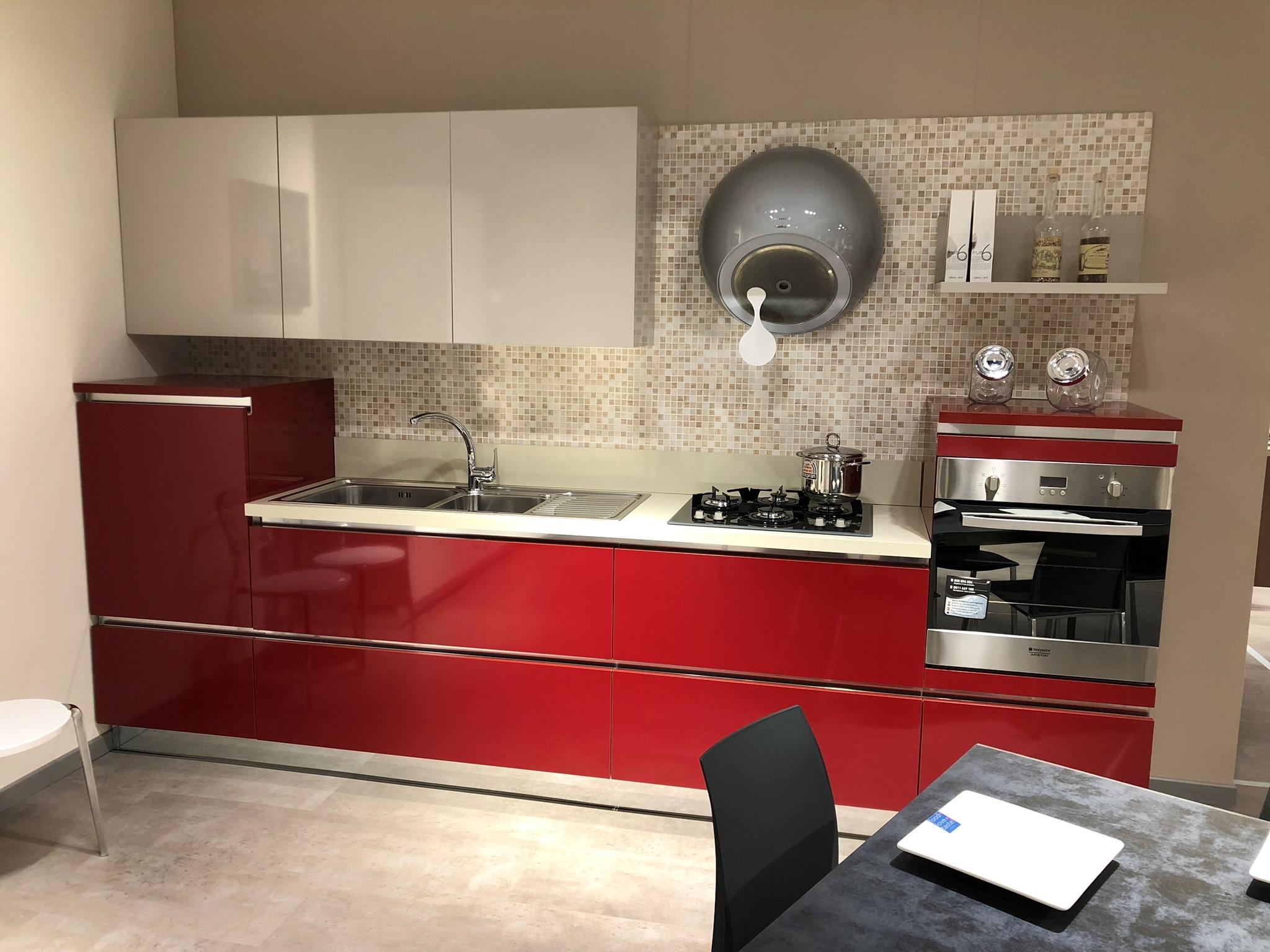 Emejing cucine rosse e bianche ideas ideas design 2017 - Piastrelle cucina rosse ...