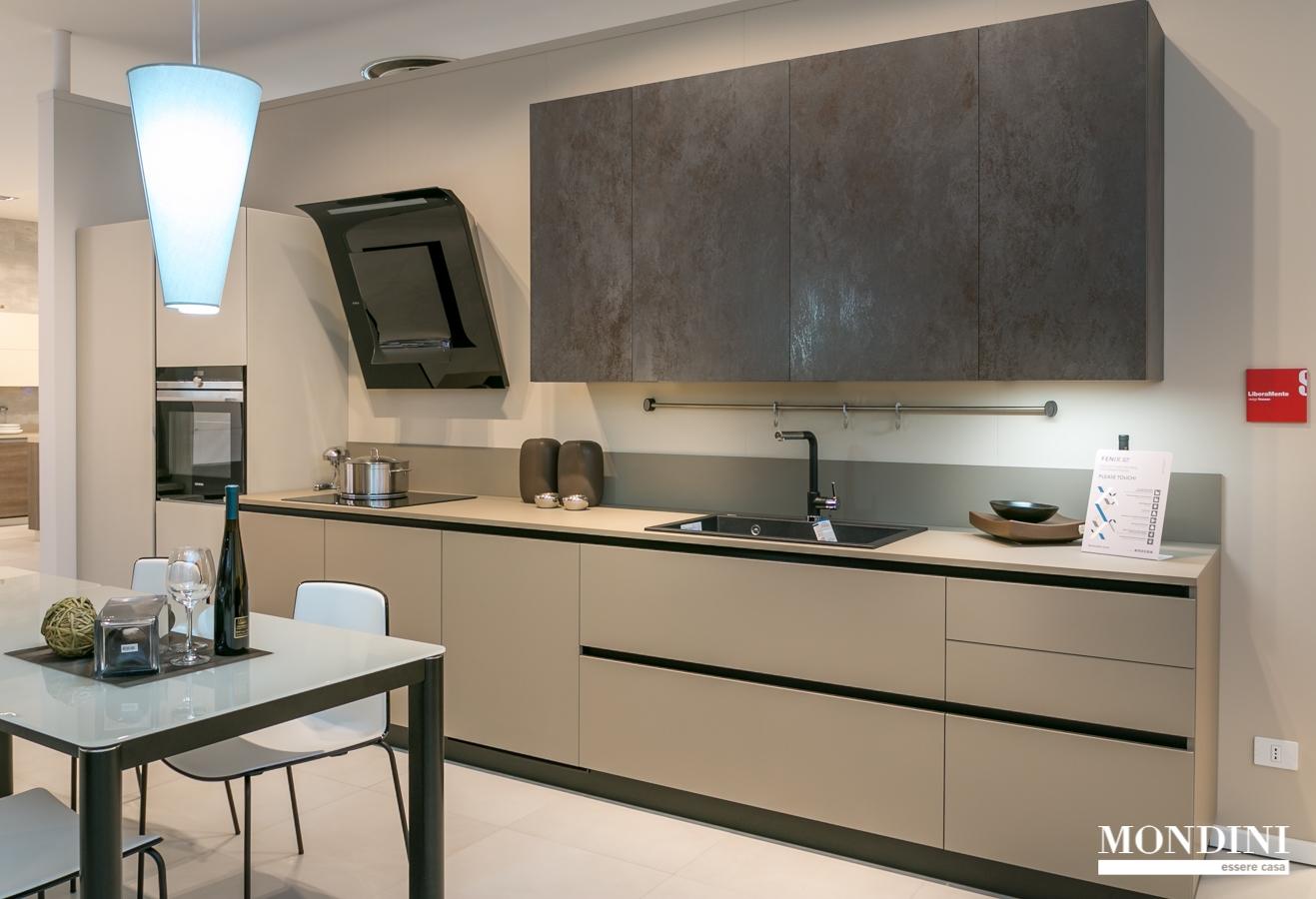Cucina lineare scavolini liberamente in fenix scontata del 32 cucine a prezzi scontati - Top cucina fenix prezzo ...