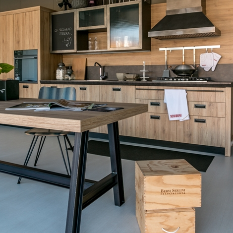 sine. cucina scavolini modello diesel social kitchen scontata del 50 ...