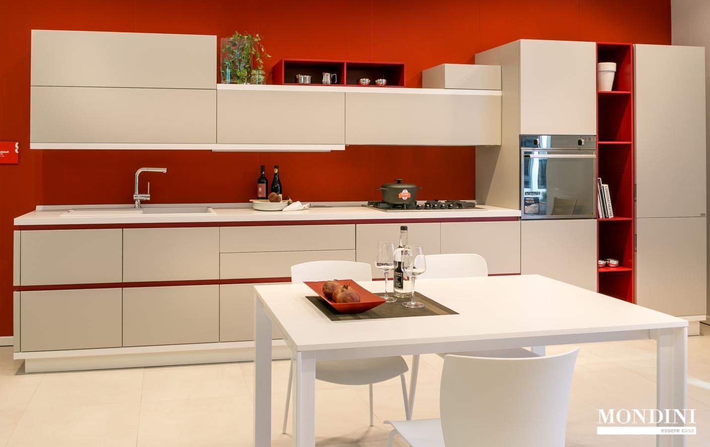 Cucina lineare Scavolini modello Foodshelf scontata del 34 ...
