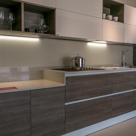 Cucina lineare Scavolini modello Liberamente scontata - Cucine a prezzi scontati