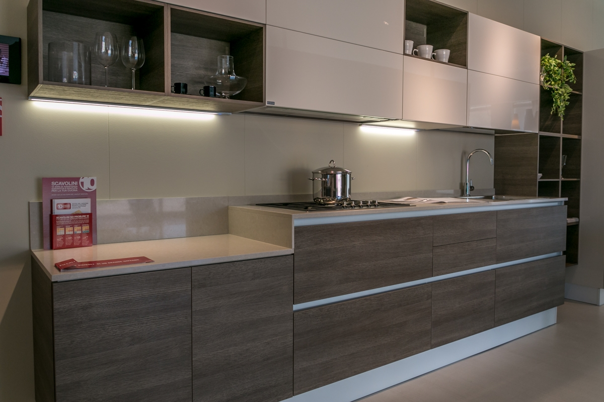 Cucine Scavolini Alcamo : Cucina lineare scavolini modello liberamente scontata