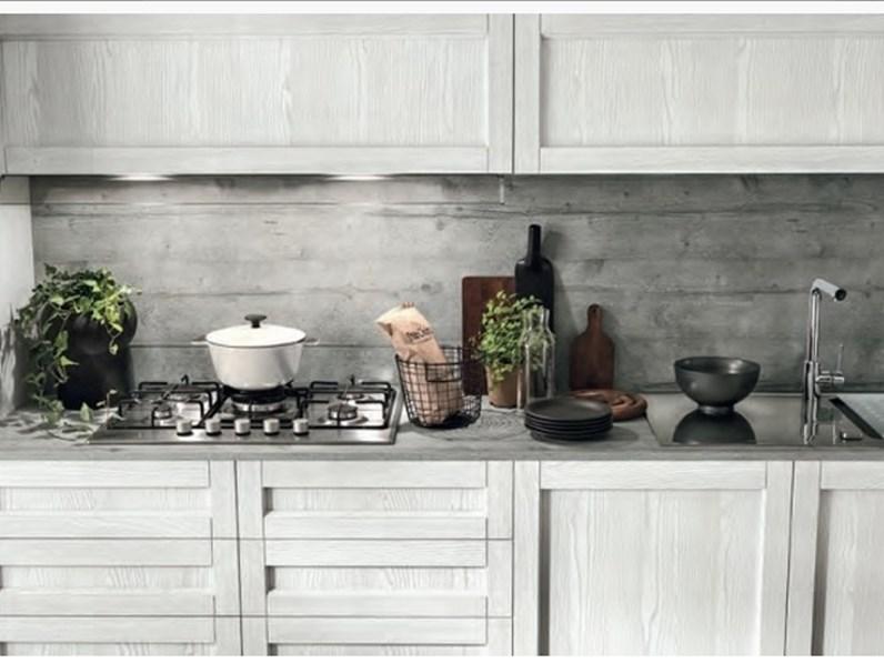 Cucina lineare shabby vintage chic in offerta outlet nuovimondi convenienza - Cucina a gas in offerta ...