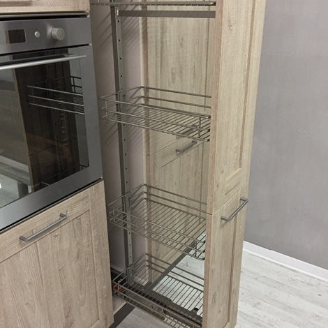Cucina lineare Stosa vintage modello city completa di elettrodomestici ...