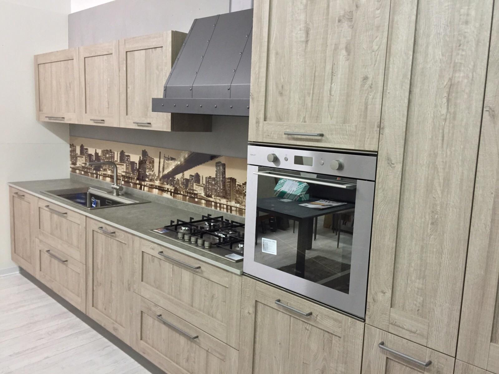 Cucina Lineare Stosa Vintage Modello City Completa Di