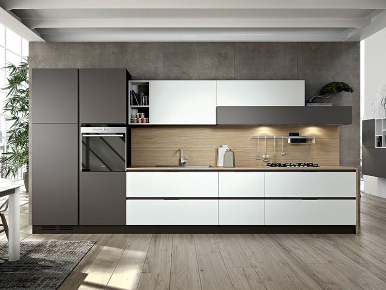 Cucina lineare Su Misura personalizzabile della Mottes Mobili
