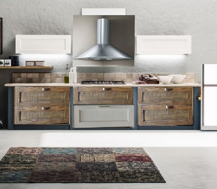 Image Result For Cucina Bianca E Legno
