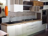 cucina lineare vintage shabby chic tranche\' in offerta convenienza ...