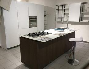 Cucina Logica 2.2 forty5 design bianca ad isola Valdesign cucine