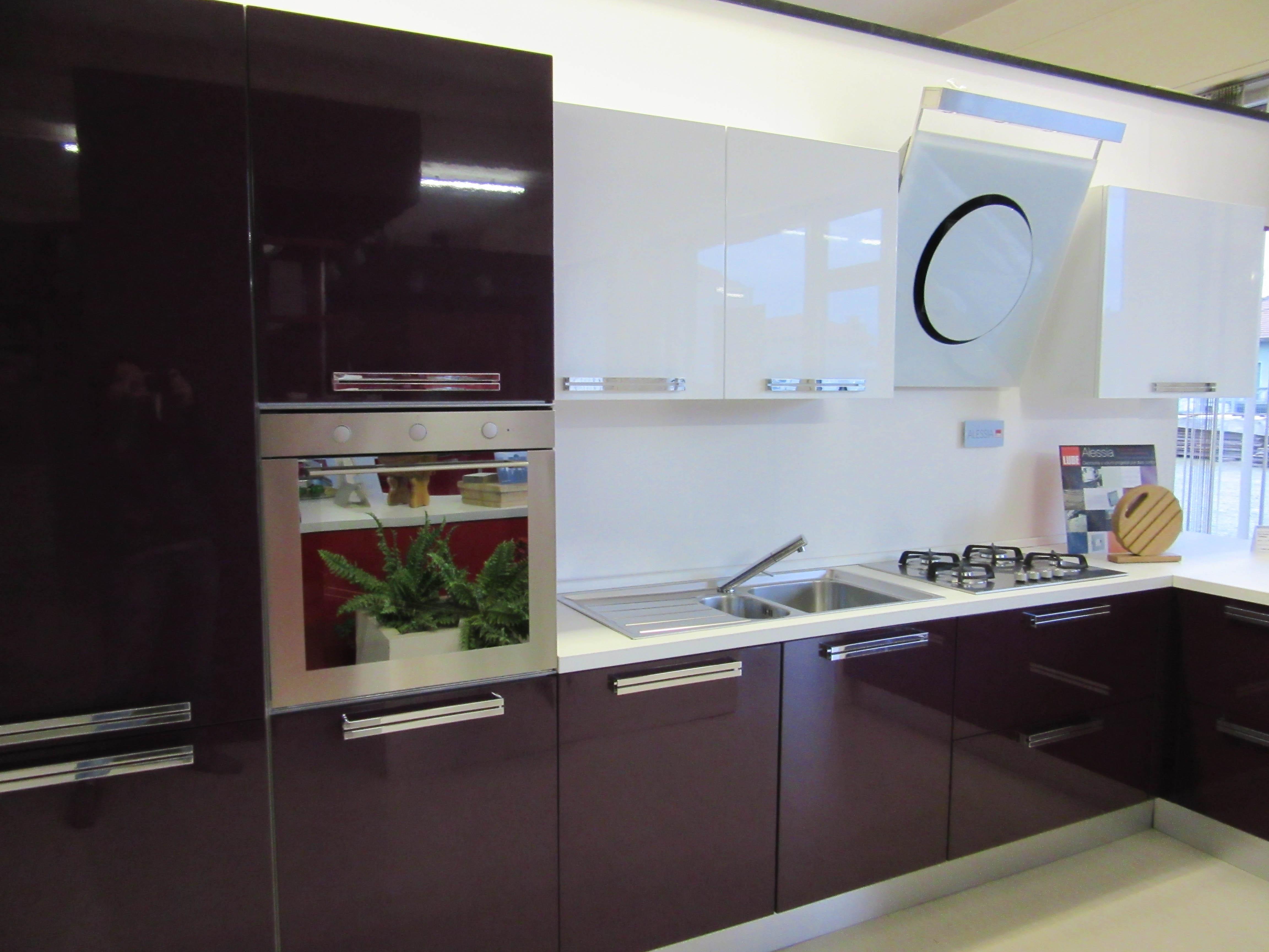 Cucina lube cucine alessia polimerico lucido cucine a - Cucine lube prezzi offerte ...