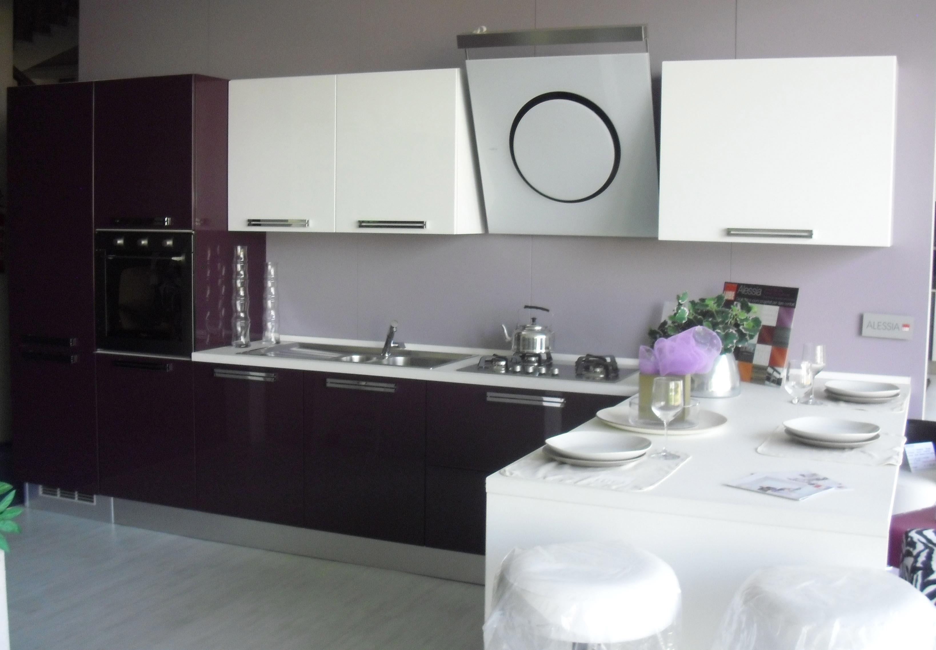 Cucine Lube Modello Alessia : Cucina lube cucine alessia polimerico lucido a