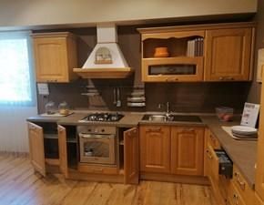 Cucina Lube cucine classica lineare larice in legno Veronica