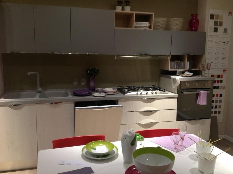 Cucina lineare lube mod immagina scontata in offerta - Cucina lube immagina ...