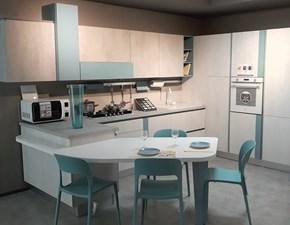 Cucina Lube cucine design ad angolo con penisola mod. Immagina OFFERTA