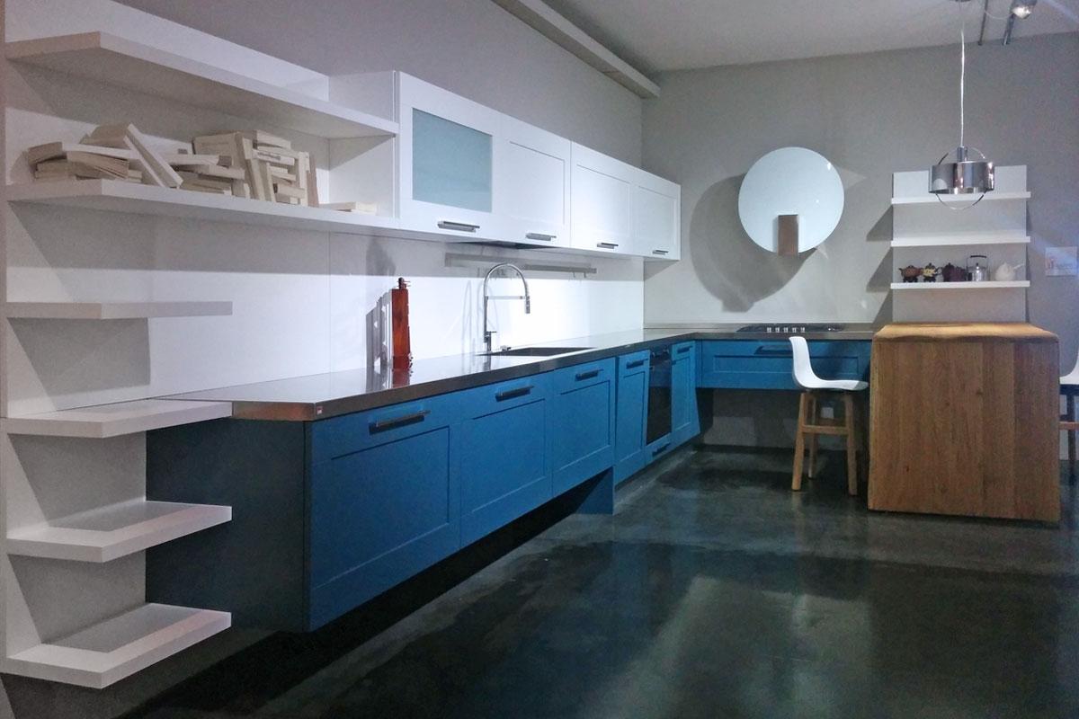 Lube cucine cucina gallery moderna laccato opaco cucine a prezzi scontati - Cucina acciaio prezzi ...