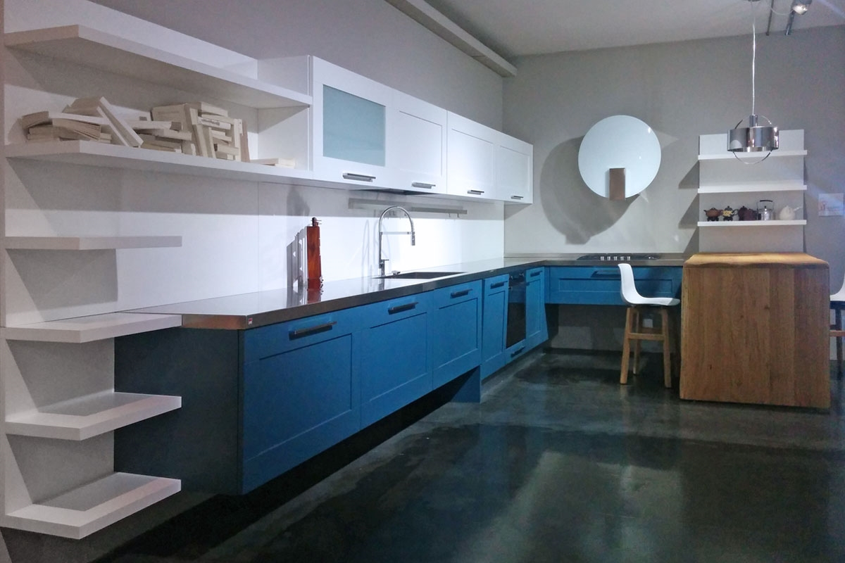 Lube Cucine Cucina Gallery Moderna Laccato Opaco - Cucine a prezzi scontati