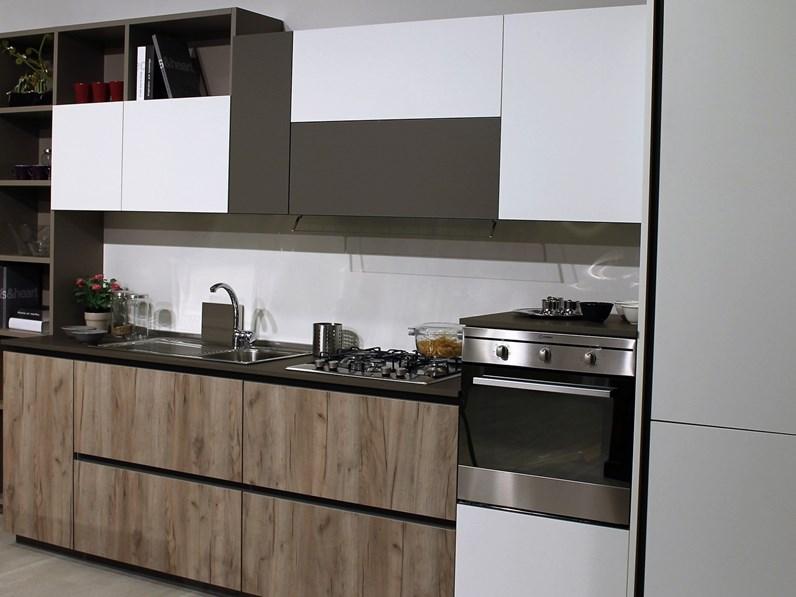 Costo Cucine Lube Moderne Prezzi.Cucina Lube Cucine Immagina Lux Prezzo Outlet