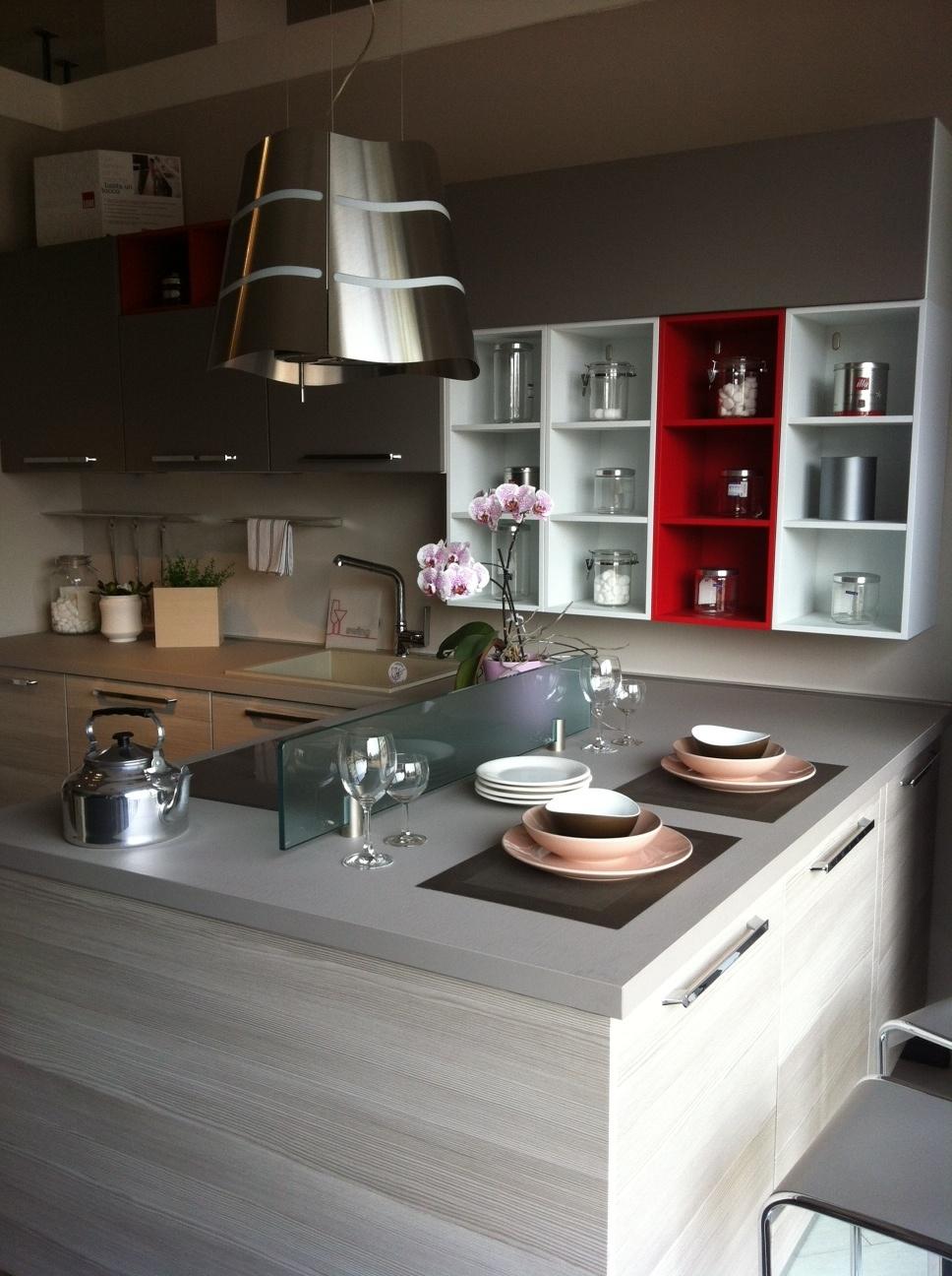 Cucina lube cucine immagina moderna laminato materico - Cucina lube immagina ...