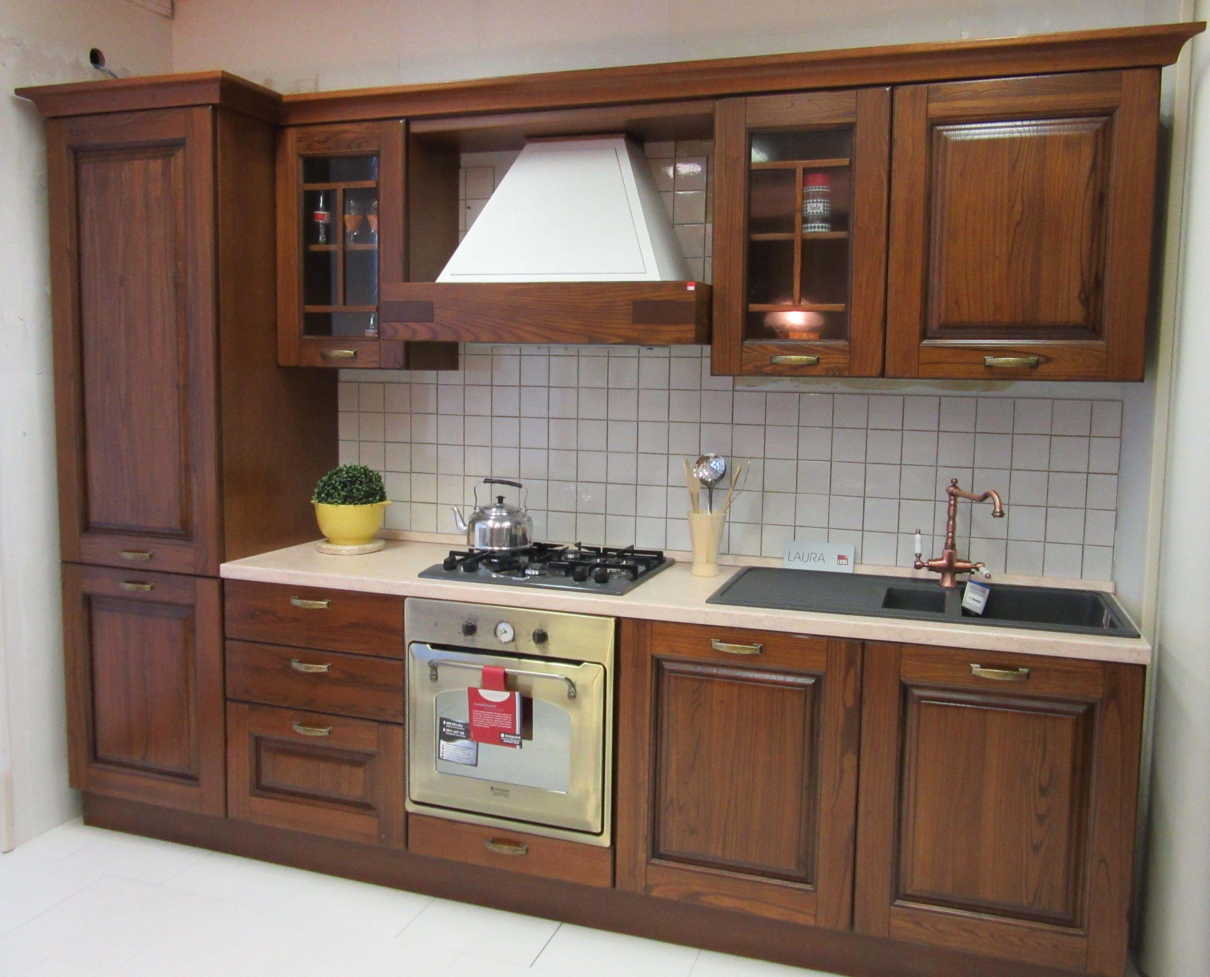 Cucina Lube Cucine Laura Legno - Cucine a prezzi scontati