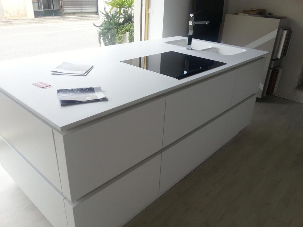 Cucina zanotto artigianale moderna laccato opaco bianca - Cucina tutta bianca ...