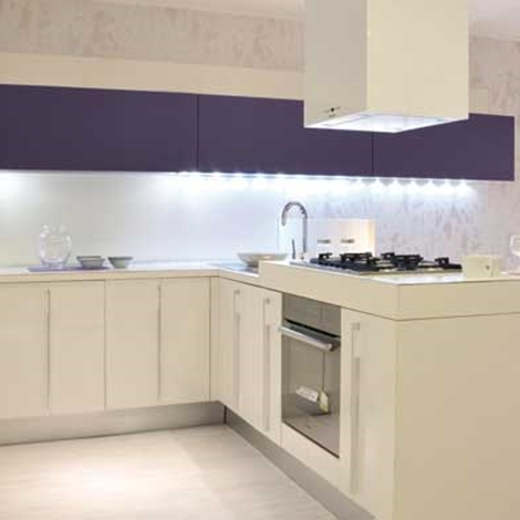 Cucina Lube Cucine Nilde Moderna Laccato Lucido Bianca
