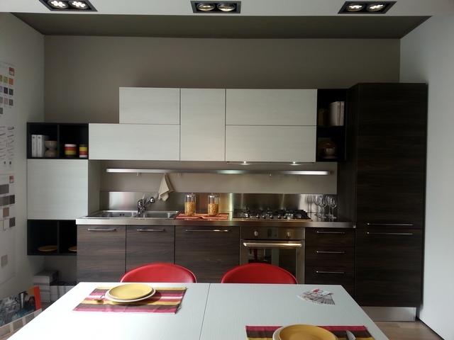 Cucina Noemi Lube Olmo Bianco: Offerta cucina lube noemi in laminato ...