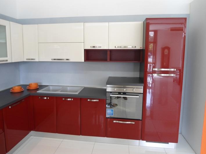 Cucine Moderne Bianche Lube : Cucina lube doris scontato del cucine a prezzi