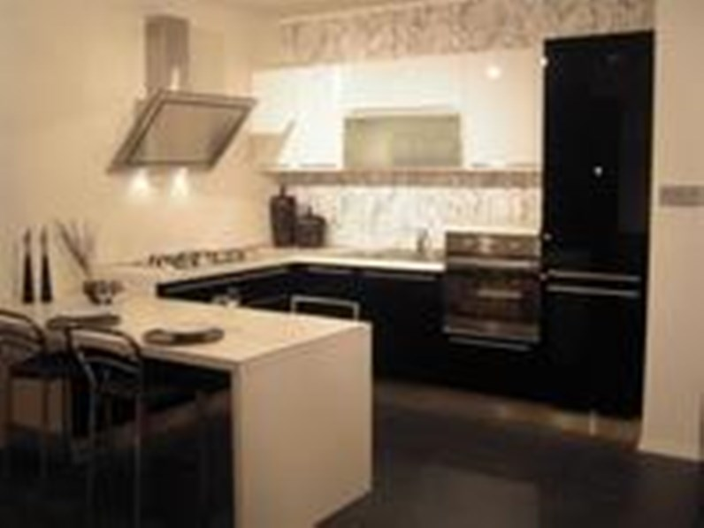 Cucine Nere Lucide. Cucine Nero Lucido Cucine Moderne Laccate Lucide ...
