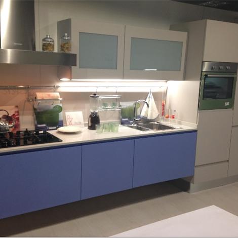 Cucina Lube Linda In Legno Di Rovere Laccato Opaco Cucine A Prezzi Scontati