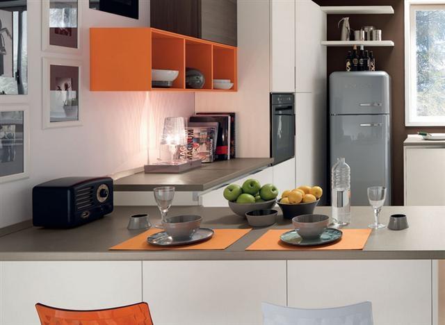 contemporary kitchen wooden island essenza cucine lube. cucina lube ...