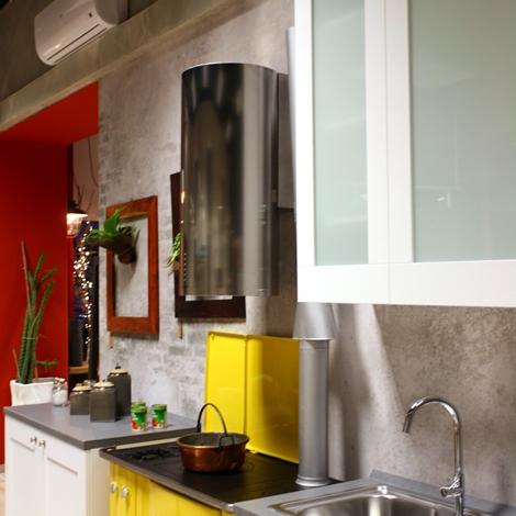 Offerta Cucina Lube Mod. Gallery in Frassino Bianco con ...