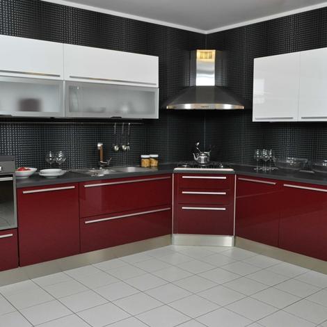 Cucina lube modello alessia completa di elettrodomestici e for Accessori di cucina
