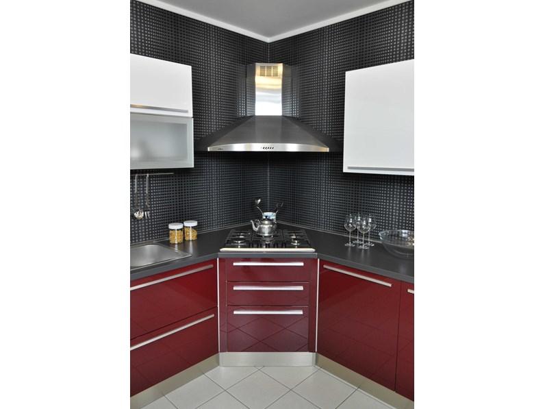 Cucina Lube modello Alessia completa di elettrodomestici e accessori