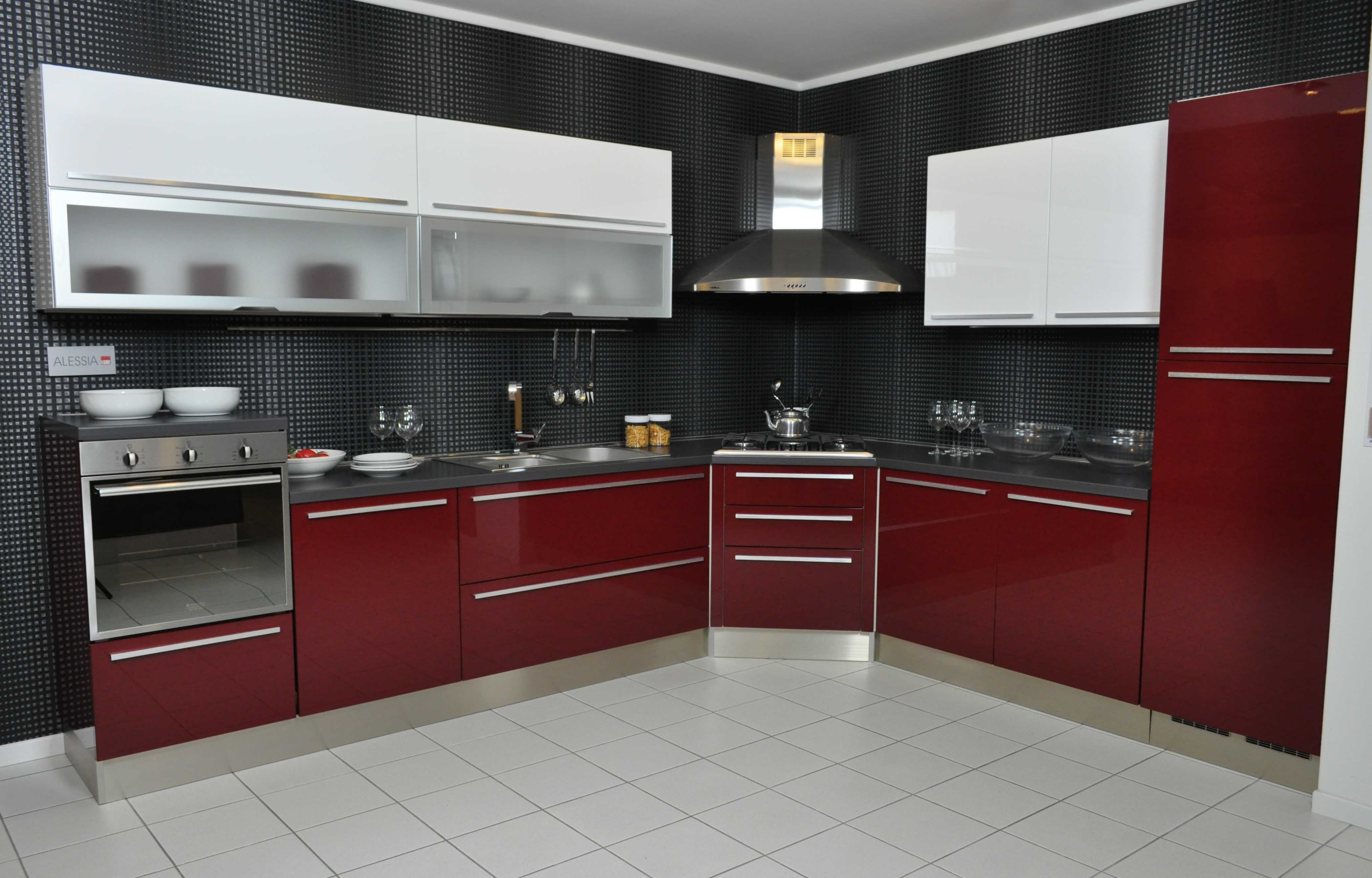 cucina lube modello alessia completa di elettrodomestici e ... - Cucina Elettrodomestici