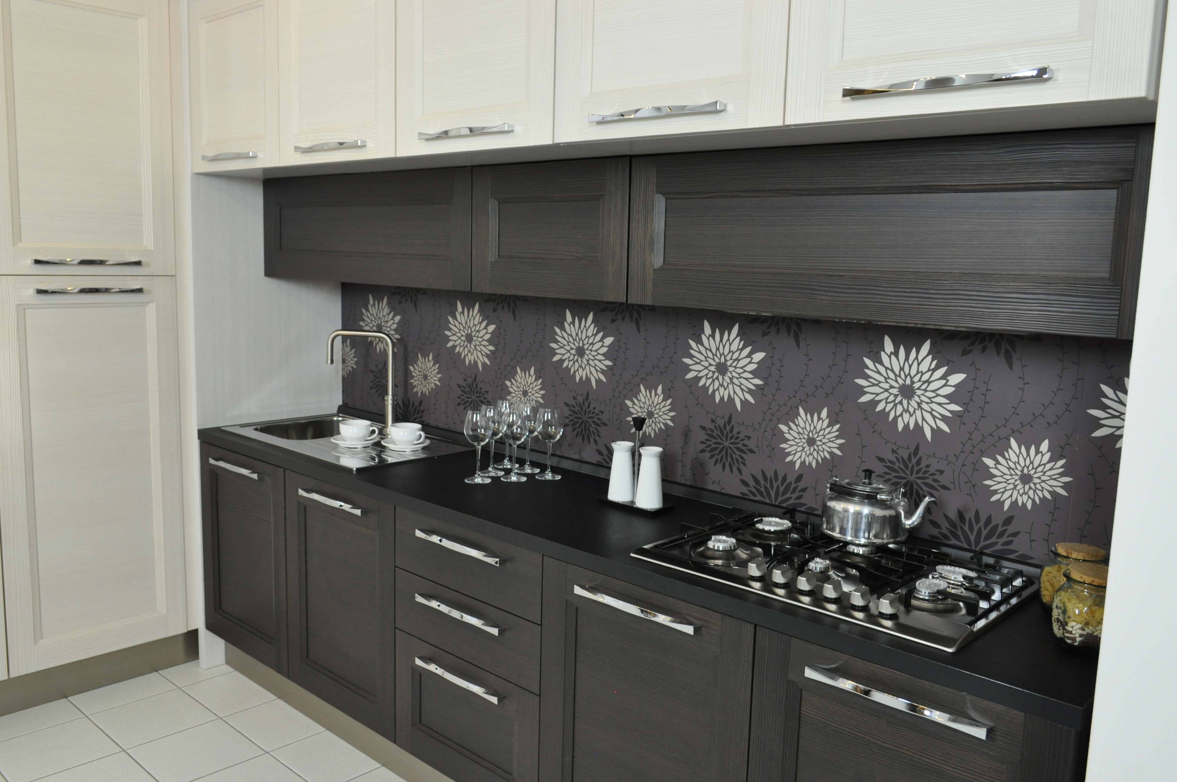 Cucina lube modello georgia completa di elettrodomestici e - Costo cucina veneta cucine ...