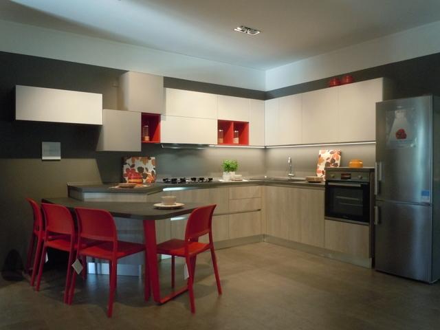 Cucina esposta lube modello immagina neck prezzo offerta sconto del 40 cucine a prezzi scontati - Prezzo cucina lube ...