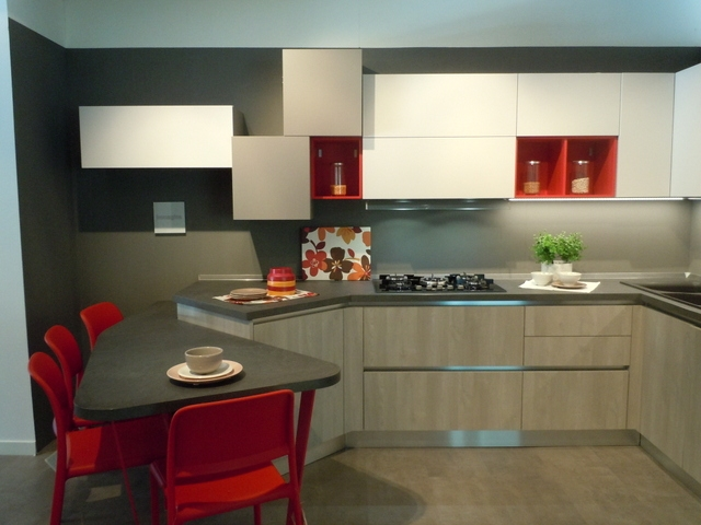 Cucina esposta lube modello immagina neck prezzo offerta - Cucina lube prezzo ...