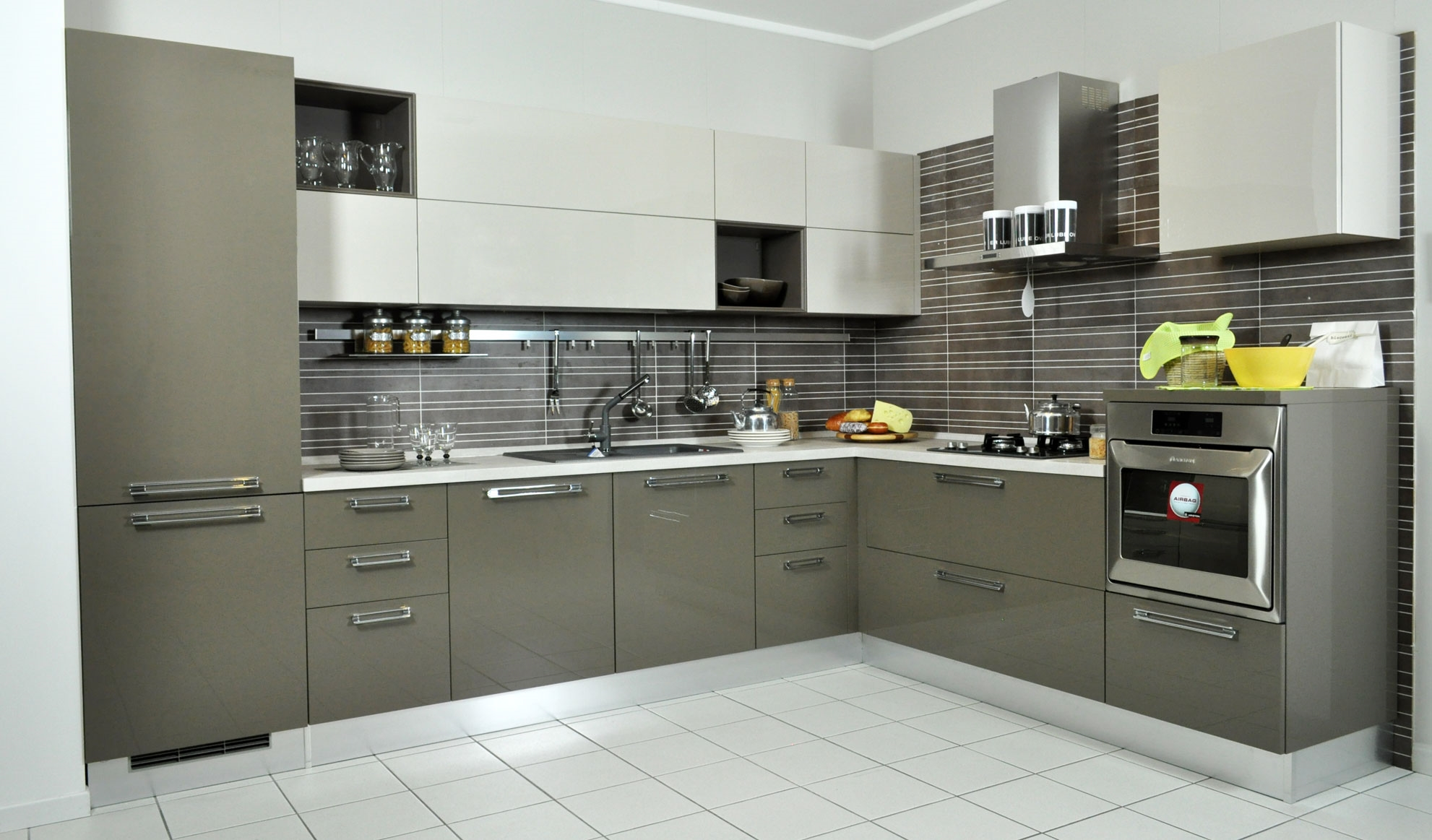 Misure Angoli Cucine. Simple Free Mondo Convenienza Cucine Colorate ...