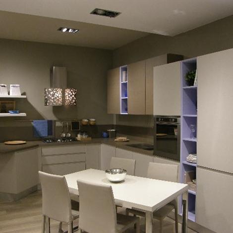 Cucina LUBE Moderna Lineare Modello Linda Scontata del 50% ...