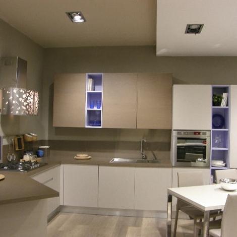 Cucina lube moderna lineare modello linda scontata del 50 - Costo cucina lube ...