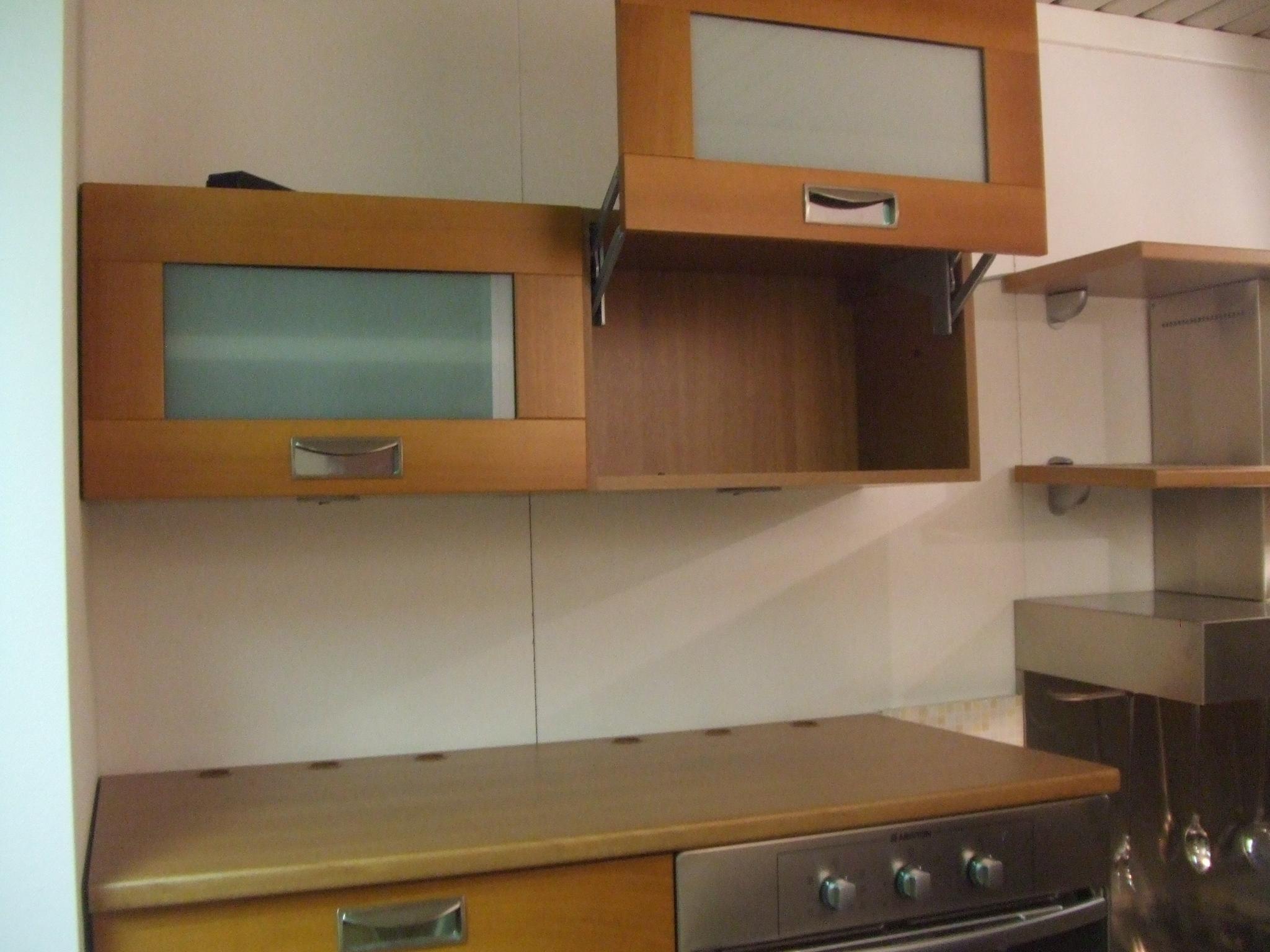 Cucina Moderna Lineare Metri 3 60 Con Colonna Forno E Con Jongose ...