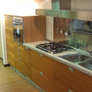 cucina moderna lineare 330 centimetri