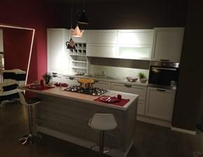 Cucina magnolia classica ad isola Claudia Artigianale in Offerta Outlet