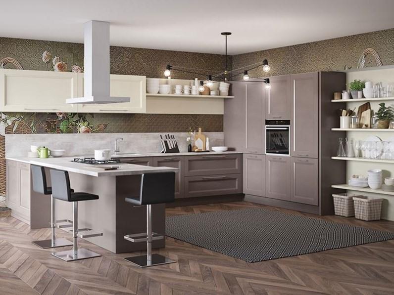 Cucine Aerre Moderne.Cucina Magnolia Moderna Ad Angolo Divina Aerre Cucine