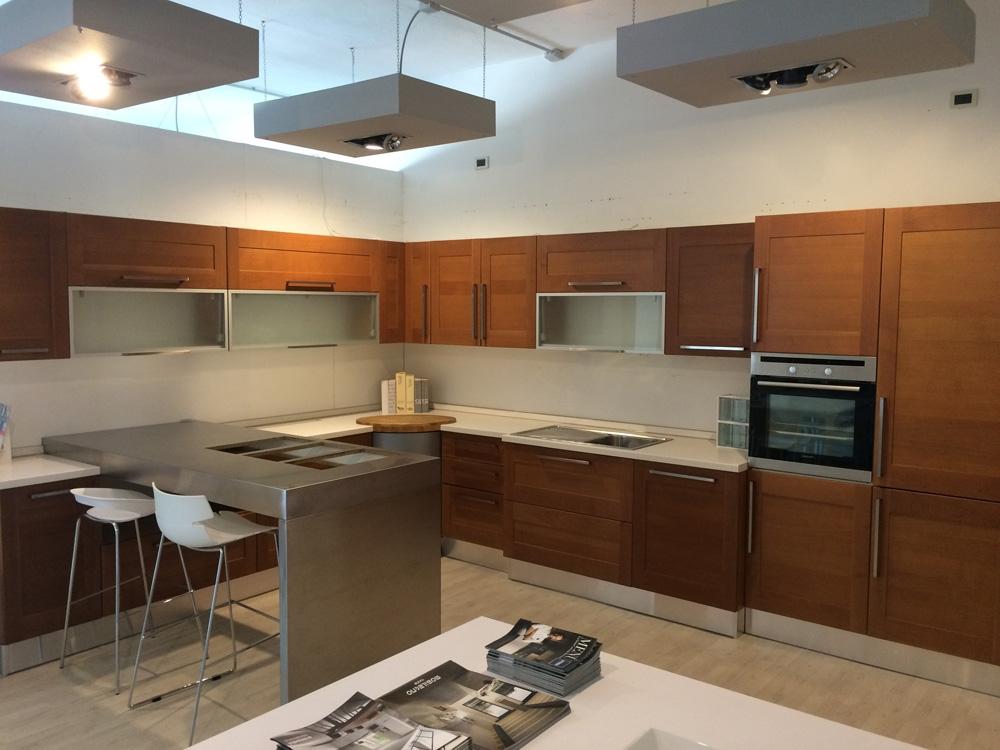 Cucina maior cucine clio moderna legno ciliegio   cucine a prezzi ...