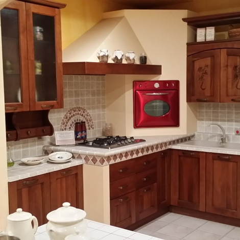 colore parete cucina noce