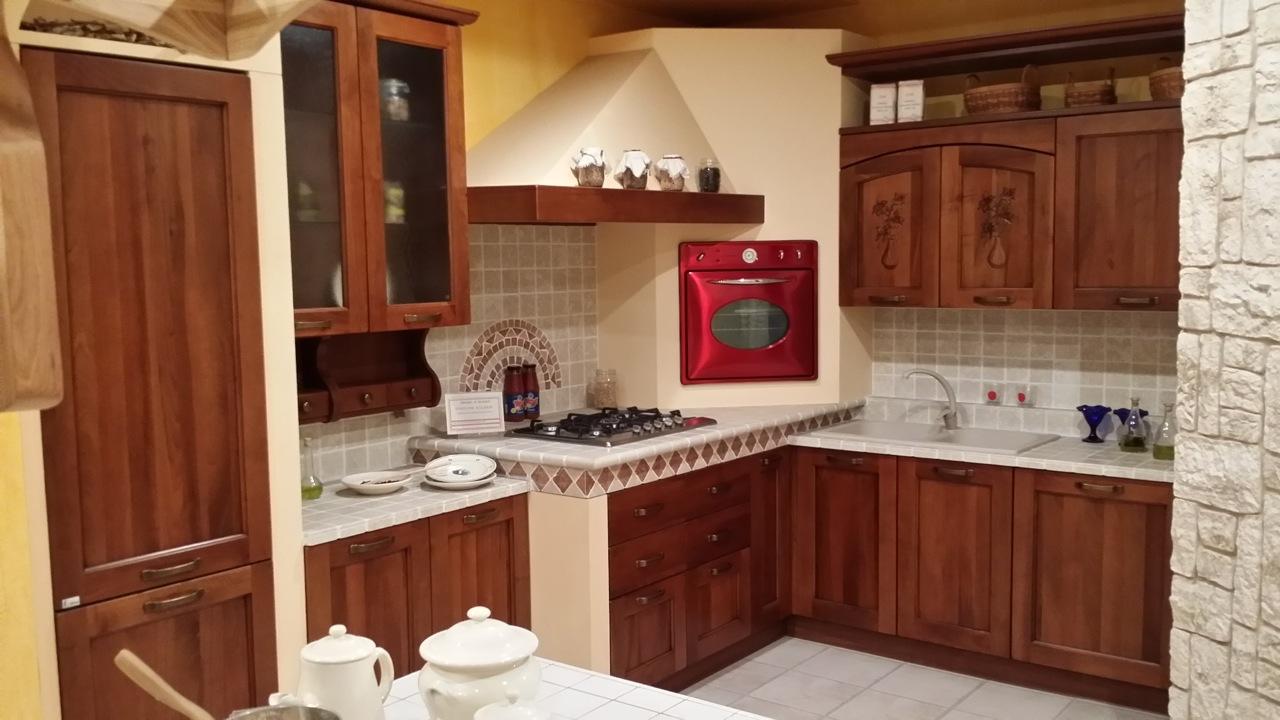 Cucina Maior Cucine Monica Classica Legno noce - Cucine a prezzi scontati
