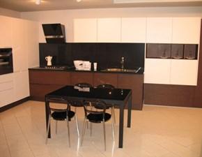 Cucina Maistri cucine design ad angolo rovere moro in legno Arena line