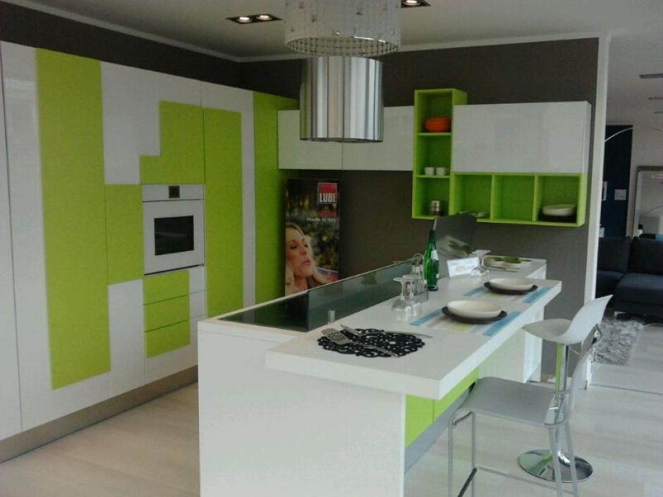 Cucina ad isola scontata cucine a prezzi scontati - Cucine moderne colorate ...