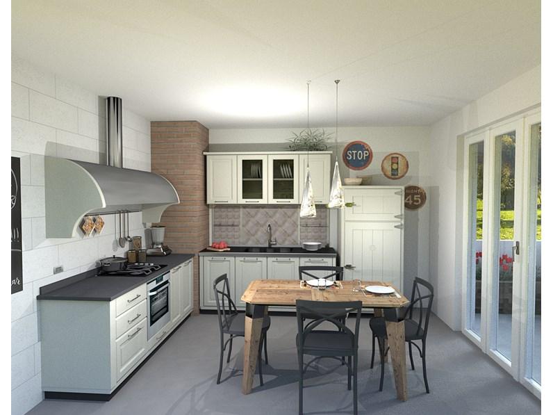 Cucina marchi nolita composizione 1 scontato del 49 - Marchi cucine outlet ...